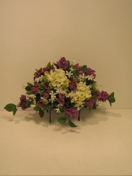 Fleuriste montr al laval couvre pitaphes for Arrangement floral artificiel